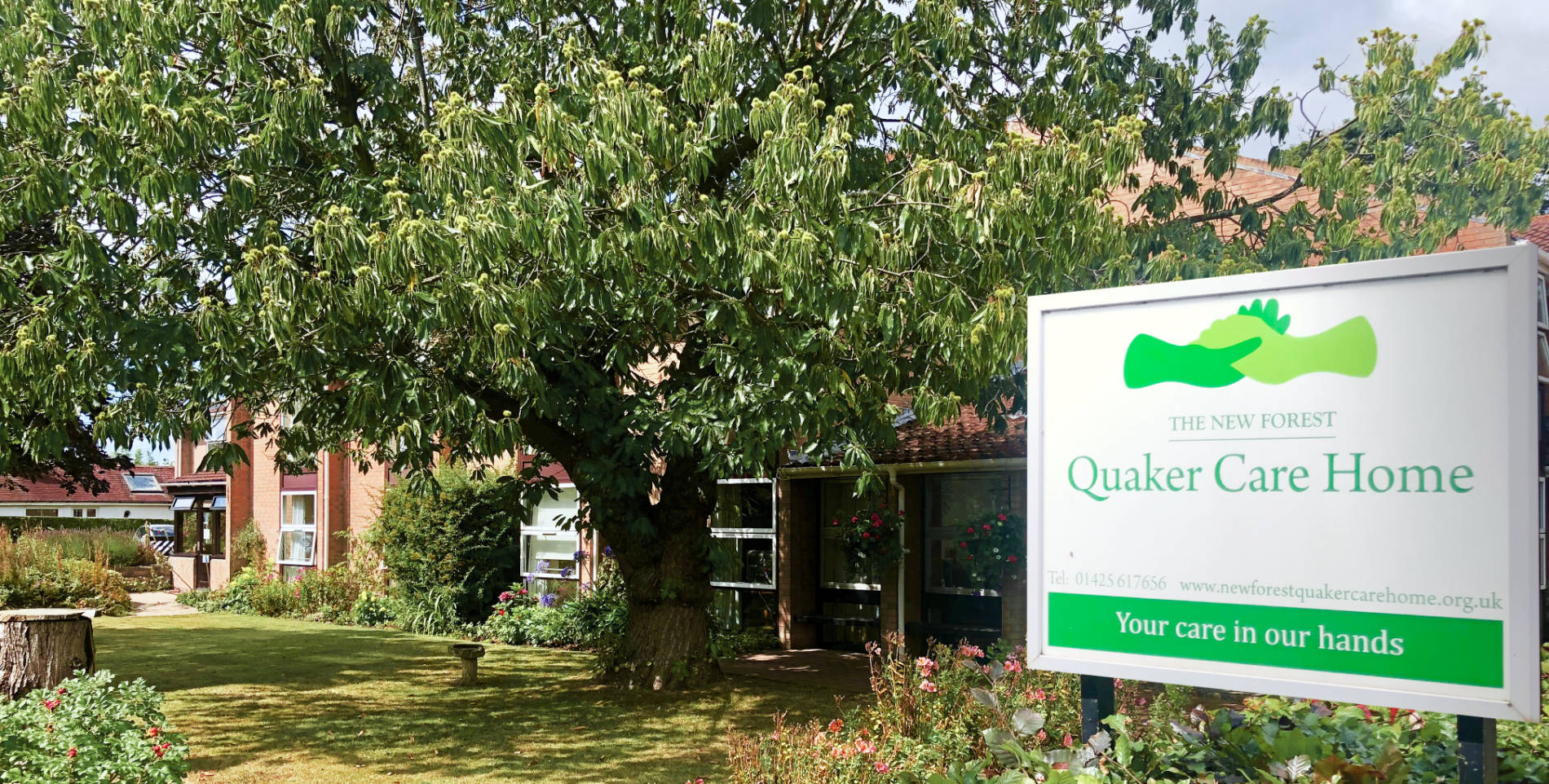 New Forest Quaker Care Home offers residential care in New Milton, Hampshire